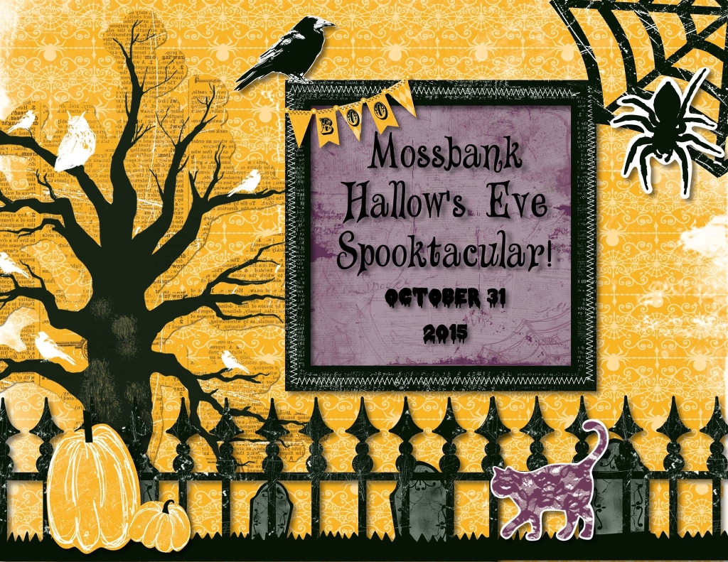 2015 Halloween party poster