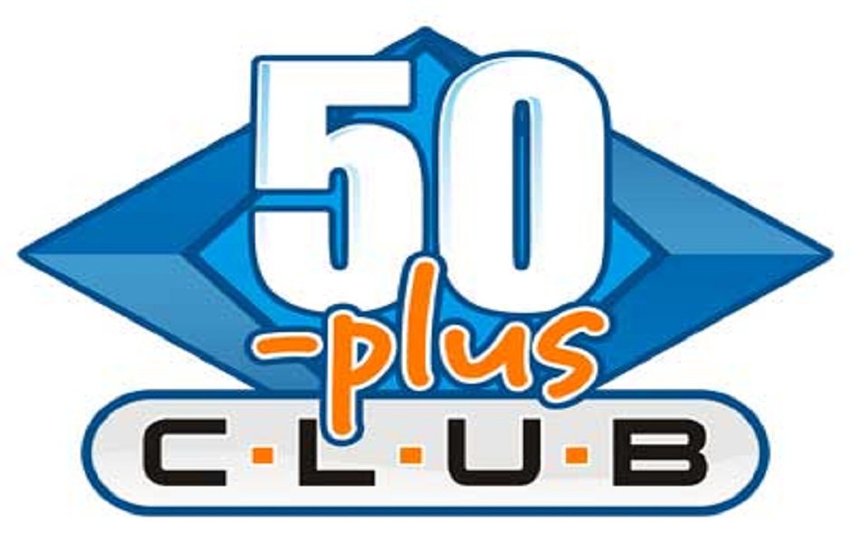50 Plus Club Schedule