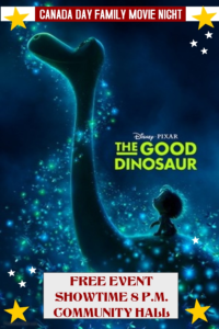 Family Movie Night - Good Dinosaur